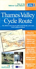 Thames Valley Cycle Route Map (using NCN routes 4 & 5)