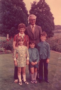 Family at Kyloe, 1971