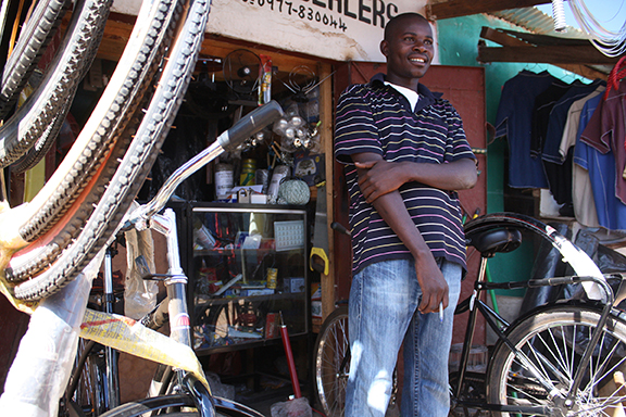 Local bicycle business